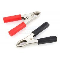G-Force Pair Large Alligator Battery Clamps