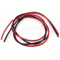 G-Force Superflex 12AWG Red and Black Silicone Wire 1000mm