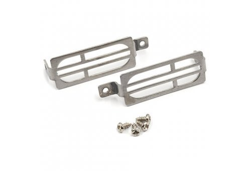 Yeah Racing Steel TRX-4 G 500 Rear Tailight Protector Grill 2Pcs