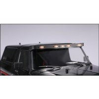 GPM Black Stainless Steel TRX-4 Bronco Overhead Light Bar