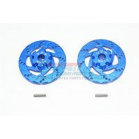 GPM UDR Blue Aluminium +1mm Brake Disc Wheel Hex 2Pcs
