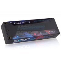Gens Ace 7.4v 5000mAh 100C RS Hard Case LiPo Battery