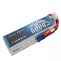 Gens Ace 22.2v 6000mAh 100C LiPo Battery