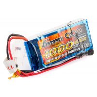 Gens Ace 7.4v 1000mAh 25C LiPo Battery