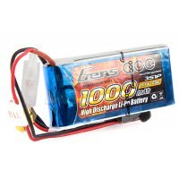 Gens Ace 11.1v 1000mAh 25C LiPo Battery