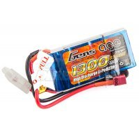 Gens Ace 7.4v 1300mAh 25C LiPo Battery