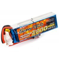 Gens Ace 11.1v 2200mAh 25C LiPo Battery