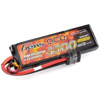 Gens Ace 7.4v 3300mAh 25C LiPo Battery