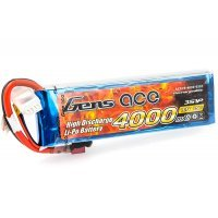 Gens Ace 11.1v 4000mAh 25C LiPo Battery
