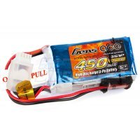 Gens Ace 11.1v 450mAh 25C LiPo Battery