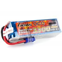 Gens Ace 22.2v 3300mAh 35C LiPo Battery