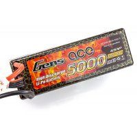 Gens Ace 14.8v 5000mAh 40C Hard Case ROAR Approved LiPo Battery