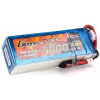 Gens Ace 14.8v 5800mAh 45C LiPo Battery