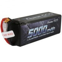 Gens Ace 14.8v 5000mAh 50C Hard Case LiPo Battery