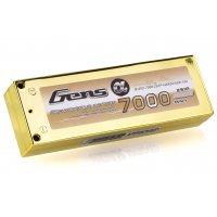 Gens Ace 7.4v 7000mAh 50C Hard Case ROAR Approved LiPo Battery