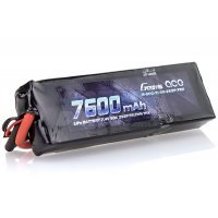 Gens Ace 7.4v 7600mAh 50C LiPo Battery