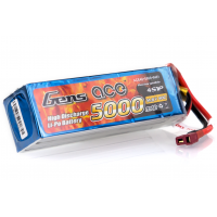 Gens Ace 14.8v 5000mAh 40C LiPo Battery