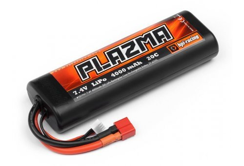 101941 | HPI Plazma 7.4v 4000Mah 20C LiPo Battery