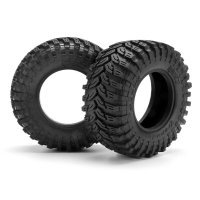 "HPI 2.2/3.0"" Blitz Maxxis Trepador Belted D Compound Tyres w/ Foam Inserts 2Pcs"