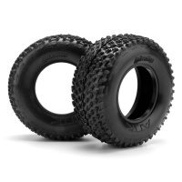 "HPI 2.2/3.0"" Blitz ATTK Belted D Compound Tyres w/ Foam Inserts 2Pcs"