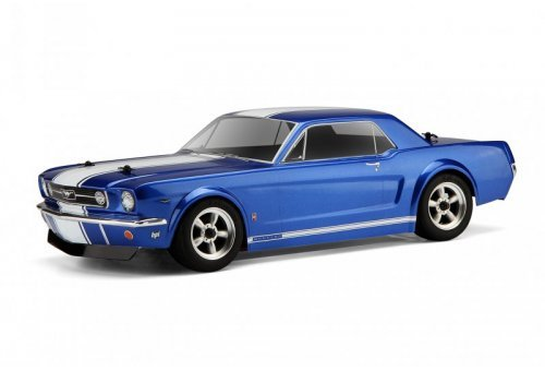 HPI 1/10 1966 Ford Mustang GT Coupe Unpainted Body Shell