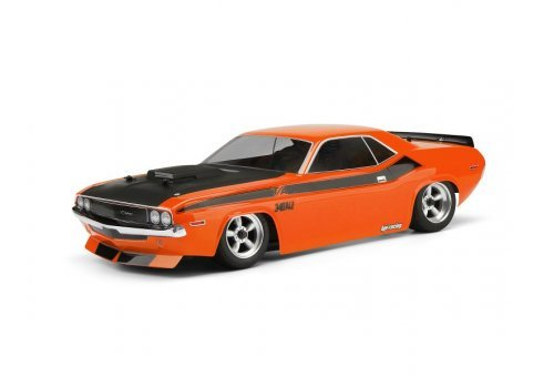 105106 | HPI 1/10 1970 Dodge Challenger Unpainted Body Shell