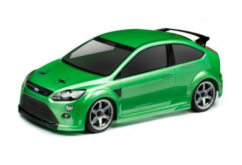 105344 | HPI 1/10 Ford Focus RS Unpainted Body Shell