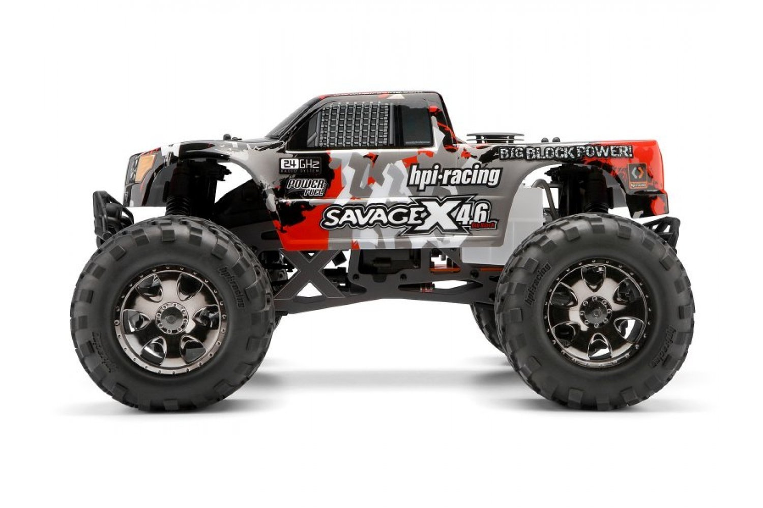 105898 | HPI Savage 1/8 GT-3 Truck Painted Body Shell