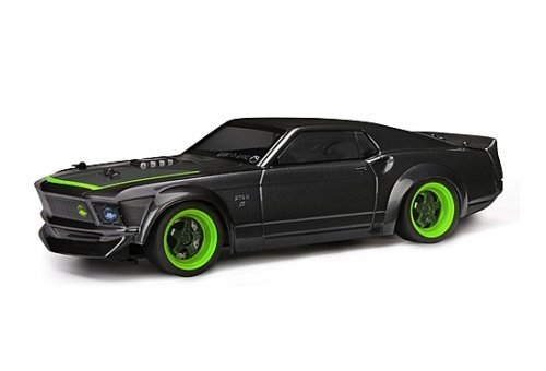 HPI 1/18 Micro RS4 1969 Ford Mustang Mini RC Car