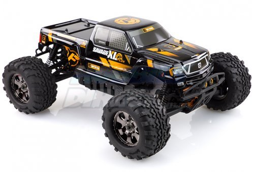 112609 | HPI 1/8 Savage XL Flux Electric Brushless 4WD RC Monster Truck