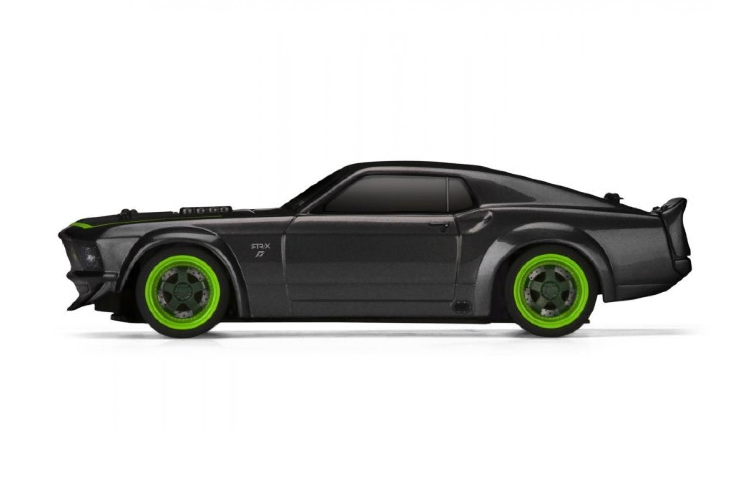 Hpi micro rs4 1 18 1969 ford mustang rtr x painted body shell