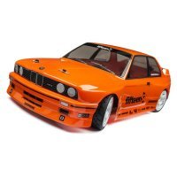 HPI 1/10 BMW M3 E30 Orange Painted Body Shell