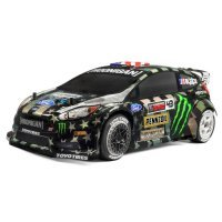 HPI 1/8 WR8 Flux Ken Block Gymkhana Ford Fiesta ST RX43 RC Car