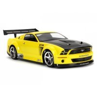 HPI 1/10 Ford Mustang GT-R Unpainted Body Shell