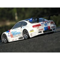 HPI 1/10 BMW M3 GT2 E92 Unpainted Body Shell