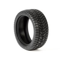 "HPI 1.9"" E10 Radial Tyres (M Compound) w/ Foam Inserts 2Pcs"
