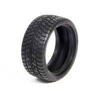 "HPI 1.9"" Low Profile Super Radial Tyres w/ Foam Inserts 2Pcs"
