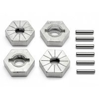 HPI Savage X 17mm Wheel Hexes w/ Pins 4Pcs