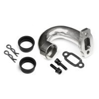 HPI Heavy Duty Steel Pigs Tail Tuned Exhaust Header