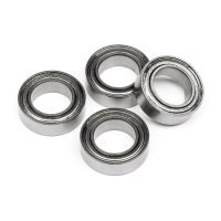 HPI 6x10x3mm Metal Shielded Ball Bearings 4Pcs