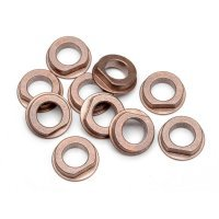 HPI 6x10x3mm Oilite Flanged Bushings 10Pcs