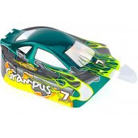 HSP 1/10 Grampus Buggy Painted Green Body Shell