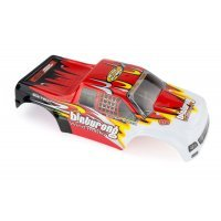 HSP 1/10 Binturong Truck Painted Red Body Shell