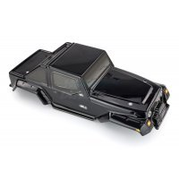 HSP 1/10 Pangolin Truck Painted Black Body Shell