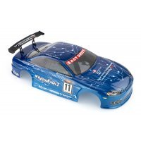 HSP 1/10 FlyingFish 1 On-Road Painted Blue Body Shell