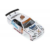 HSP 1/10 On-Road Painted Body White Shell