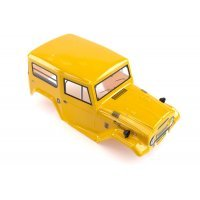 HSP 1/10 RC4 Rock Cruiser Truck Painted Mustard Body Shell