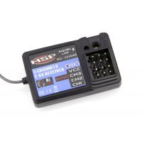 HSP FlySky GR3E 2.4Ghz 3ch Waterproof Receiver