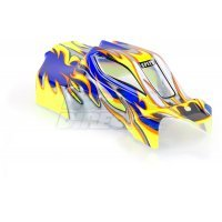 HSP 1/10 Mongoose Buggy Painted Blue Body Shell