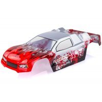 HSP 1/10 Viper BL Stadium Truck Painted Red Body Shell
